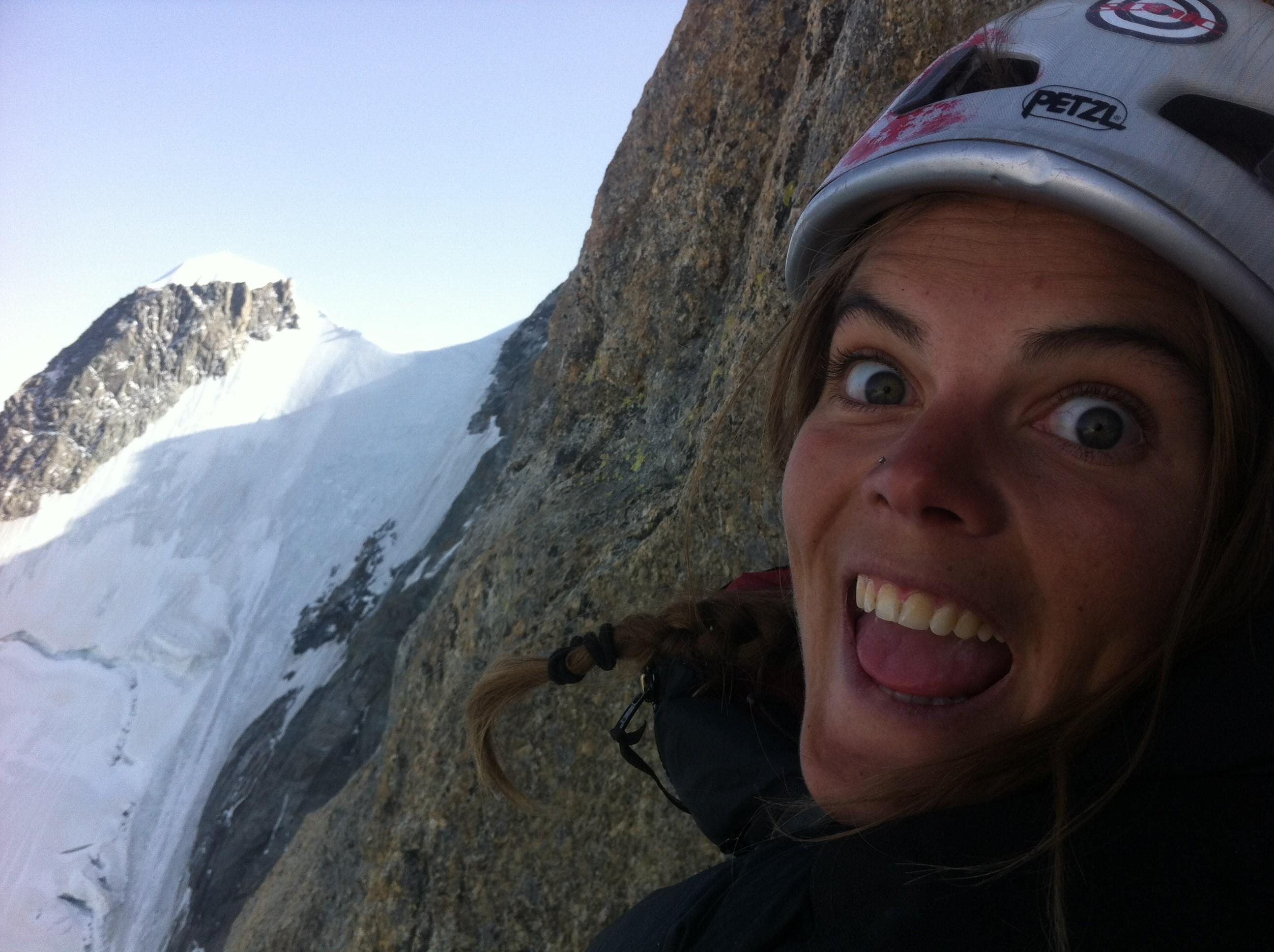 Camille Didillon Rock Climbing